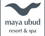 mayaubudlogo マヤ ウブド リゾート ウブド の プタヌ 川 モダン的な ホテル ヴィラ