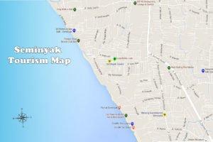 バリ島地図 各地 地図 情報