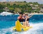 バナナボート バリ マリン スポーツ 自由 海 アクティビティ