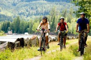 サイクリング ウブド ヴィレッジ サイクリング