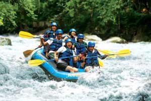バリ島 オプショナル ツアー 川下りラフティング 海 アクティビティ 人気 遊ぶ プラン