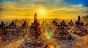 ボロブドゥール寺院巡りツアー 観光 情報 世界 遺産 巡り