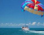 パラセーリング バリ マリン スポーツ 自由 海 アクティビティ