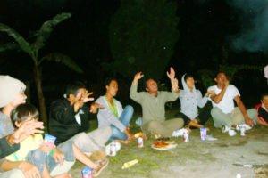 グループ、ナイトパーティー、Bewishサイクリングツアー