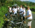バリ島サイクリング、サイクリングツアー、マウンテンバイク