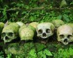 Trunyan村, 人間の頭蓋骨