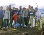 Bewishバトゥール山ハイキング, グループ写真. バトゥー山