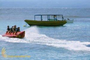 バナナボート、 レンボンガン島、 クルーズ、Bewishバリハイクルーズ