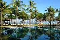 ホテル デラックス パッケージ 海 沿い ホテル ウブド ヴィラ 滞在 プラン