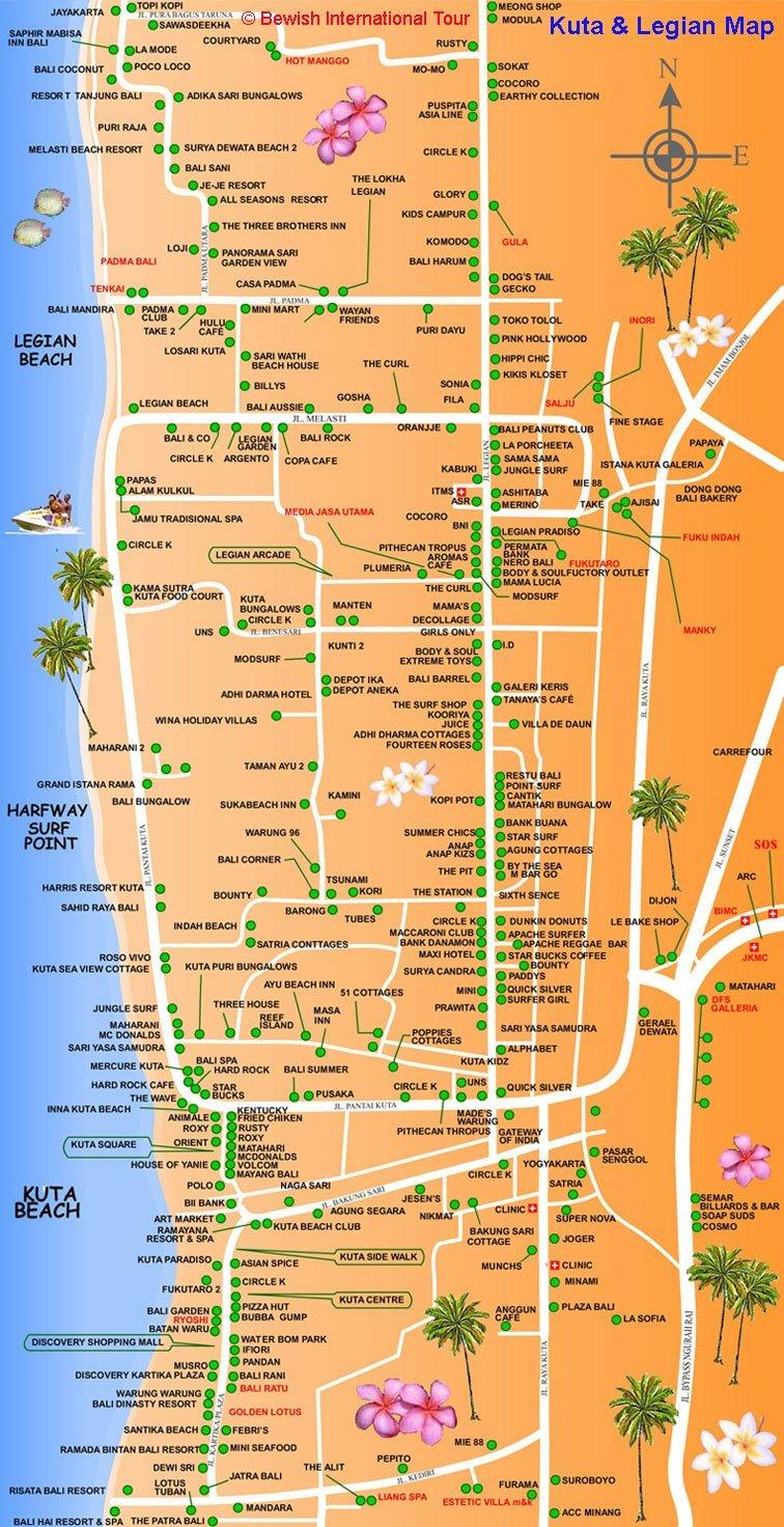 クタマップ クタ地図 レギャンマップ