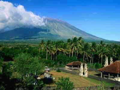 バリ火山、アグン山、アグン, バリアグン山