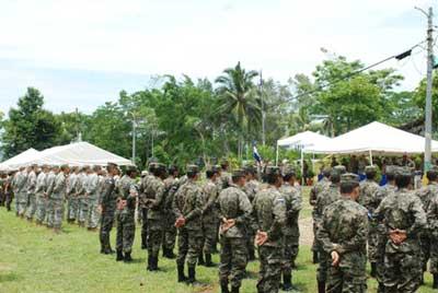 アメリカ・インドネシア、軍事訓練, アメリカ大使軍