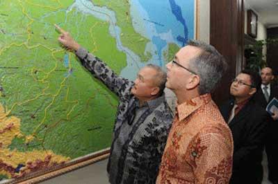 インドネシア、アメリカ軍事訓練