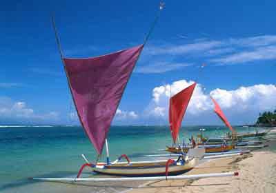 バリ島の自然, バリビーチ