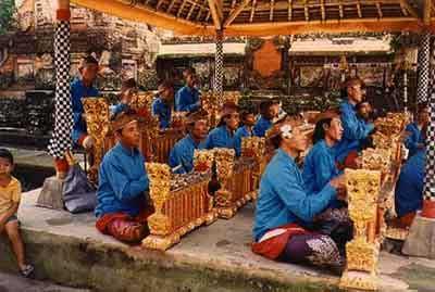 バリニーズガムラン、ガムラン, バリ島文化