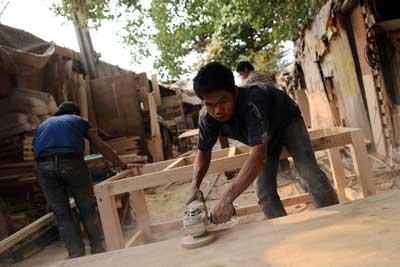 インドネシア輸出、家具