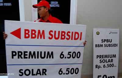 インドネシアガソリン、価格