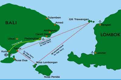 apec, APEC開催中, ギリ島、ロンボク島