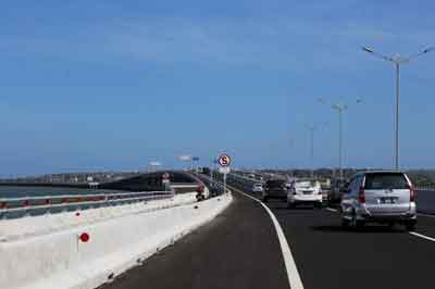 バリマンダラ有料道路、高速道路、ユドヨノ大統領