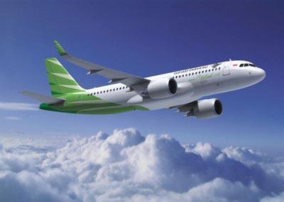 シティリンク、ガルーダ、インドネシア航空機