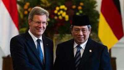 インドネシア大統領、ドイツ、インドネシア観光
