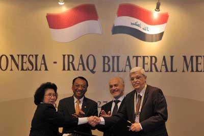 二国間協定、インドネシアイラク
