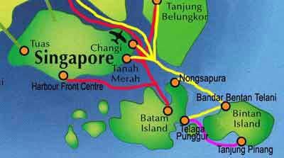 インドネシアリアウ, PLNバタムマップ