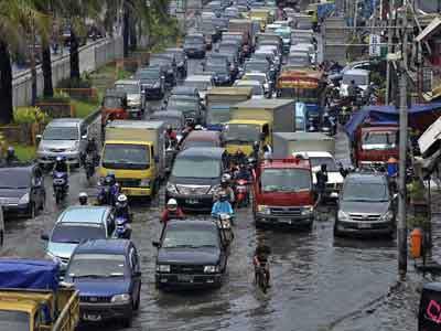 ジャカルタ洪水, ジャカルタの雨