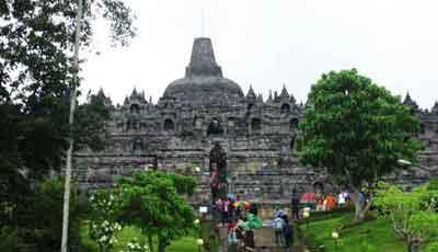 ボロブドゥール寺院, 新しい観光地